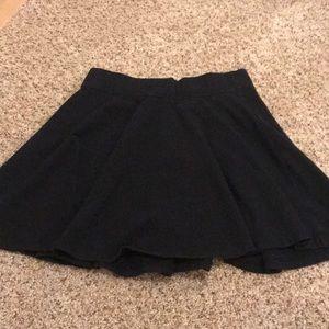 Hollister Black Skater Skirt